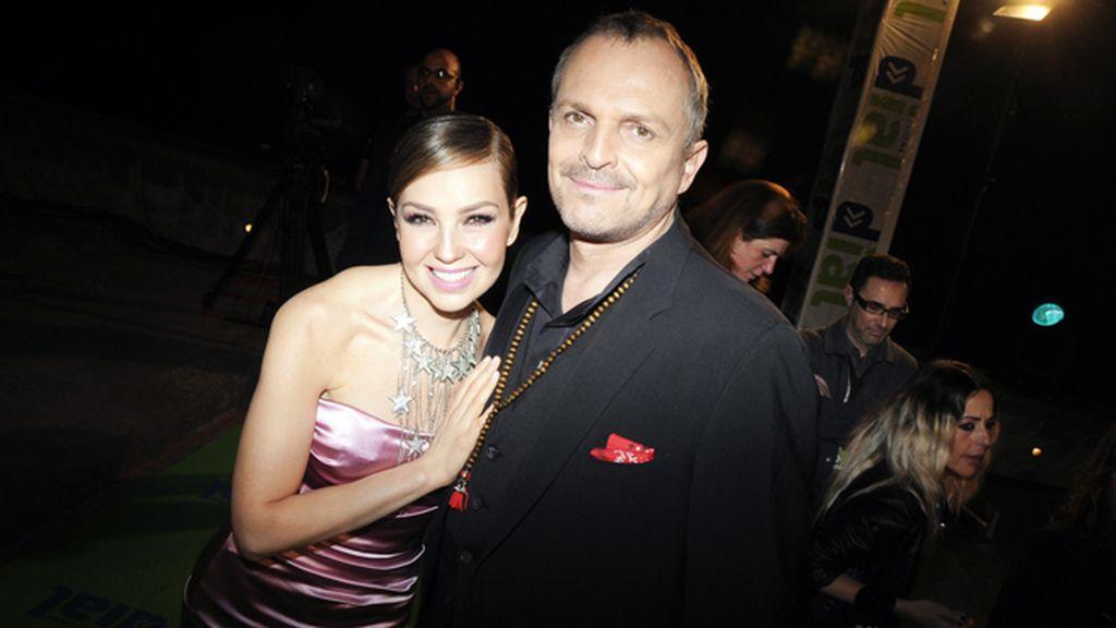 Una pareja de auténtico lujo: Thalía y Miguel Bosé