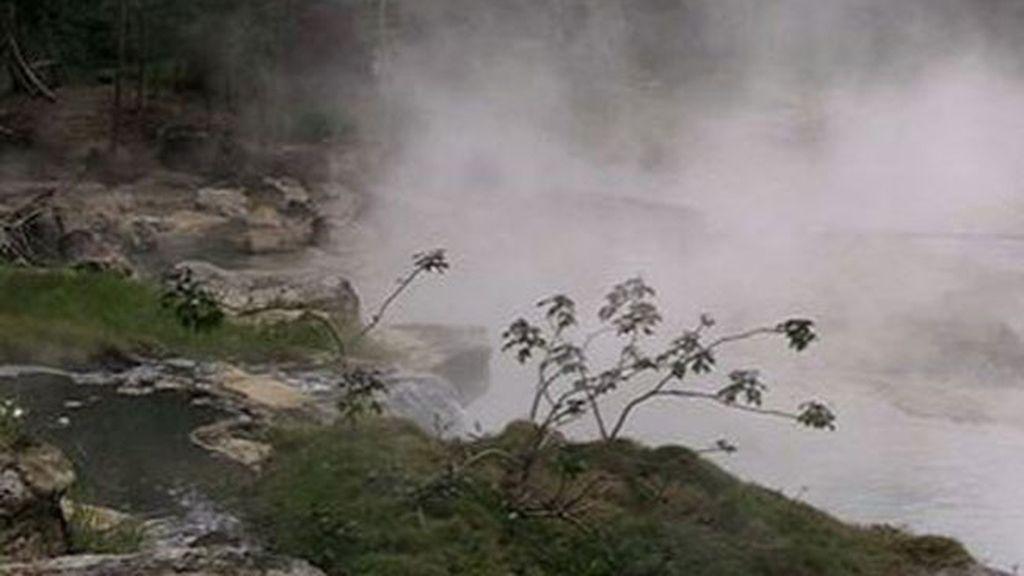 Descubren un legendario río