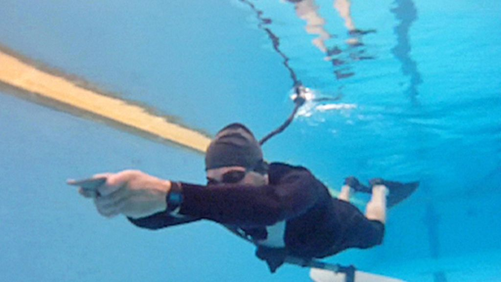 Nadar como un pez