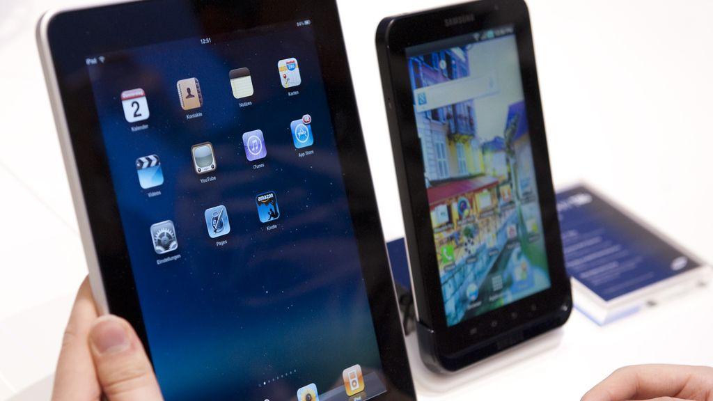 Los usuarios de 'tablets' gastan un 54% más que los de 'smartphones'