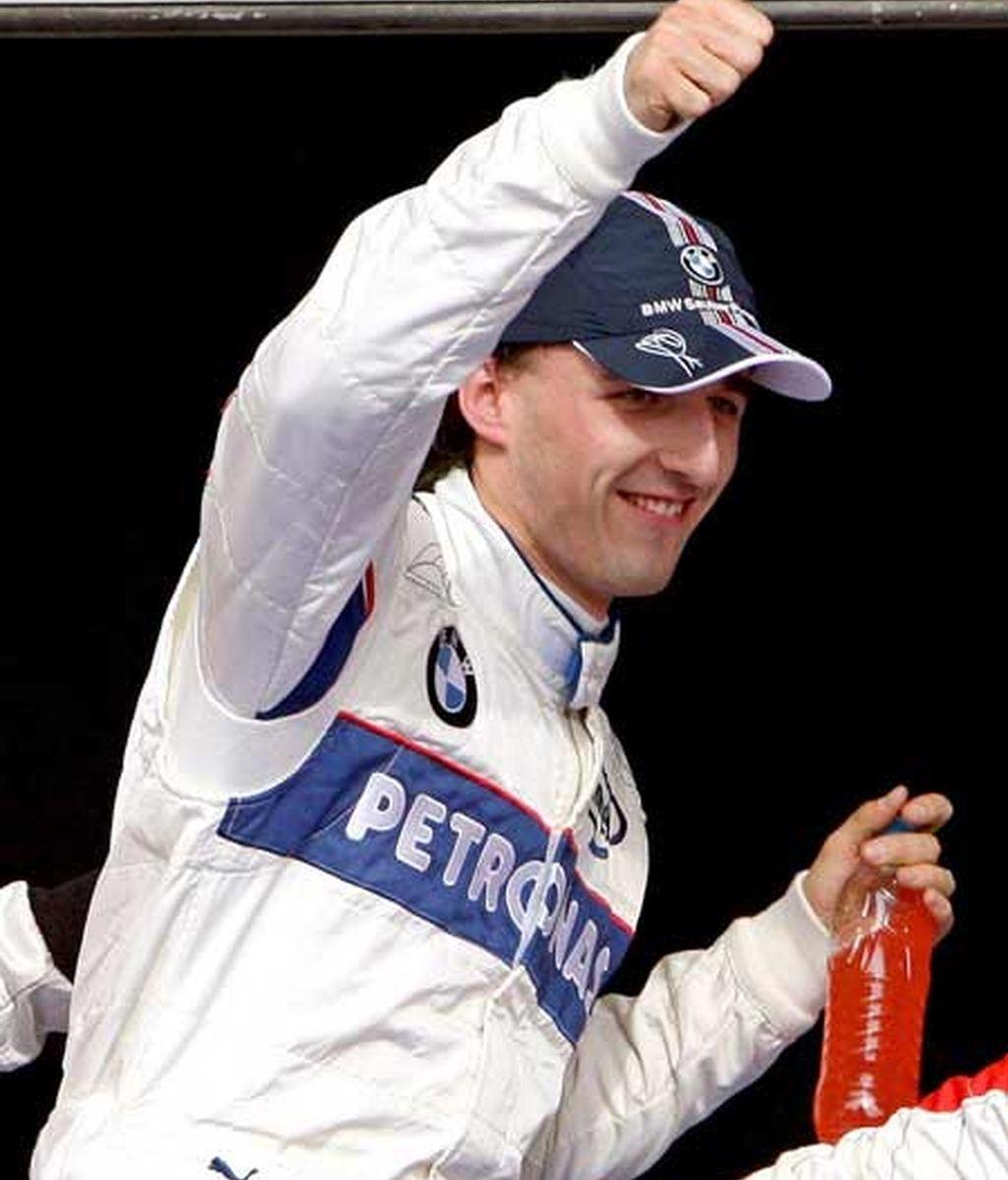Pole position para Kubica
