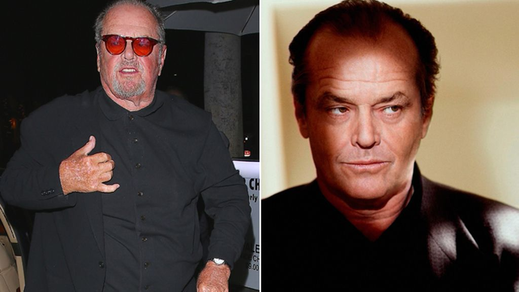 Jack Nicholson, irreconocible