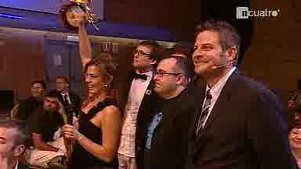 Tres premios de la televisión para Cuatro