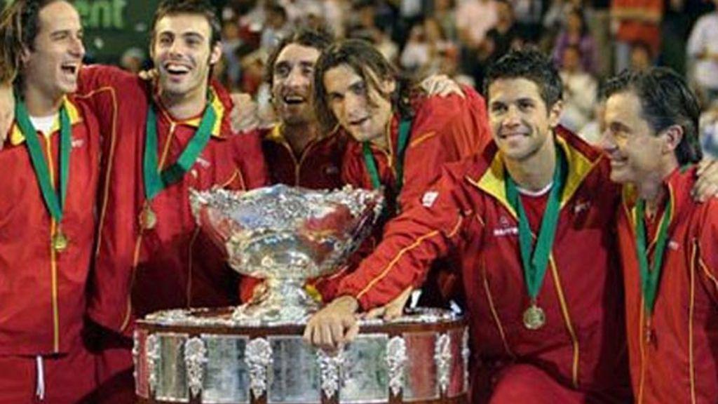 Cinco 'Ensaladeras' para España