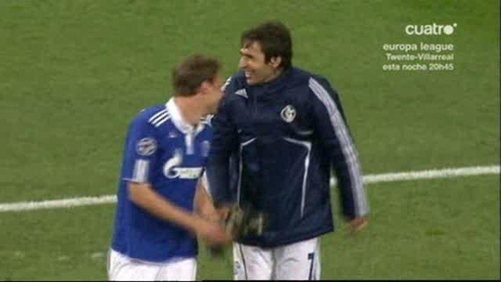 Raúl lleva al Schalke a semifinales