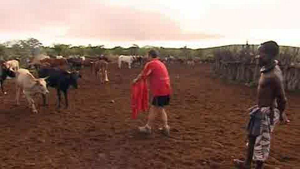 IMÁGENES INÉDITAS: Jose, todo un torero