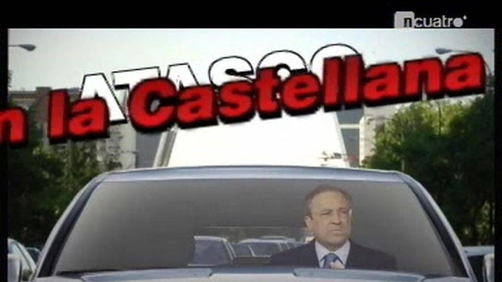Atasco en la Castellana