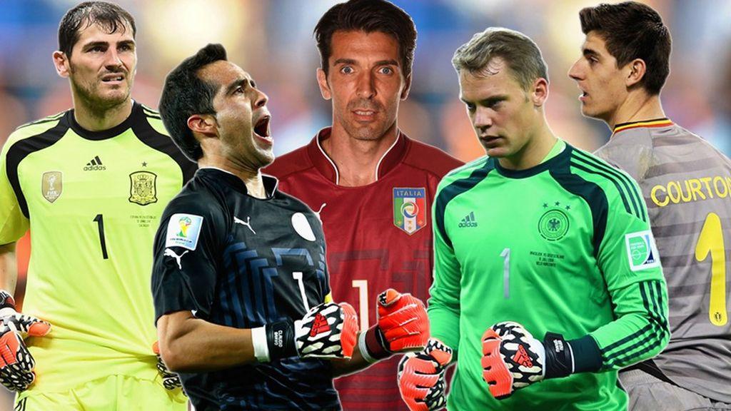 Porteros candidatos al once mundial de la FIFA