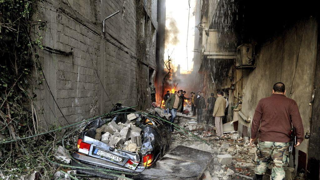 Al menos una veintena de muertos en Damasco