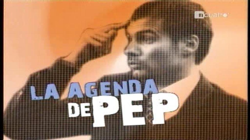 La agenda de Pep