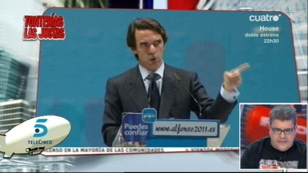 Sube el pan... ¡habló Aznar!
