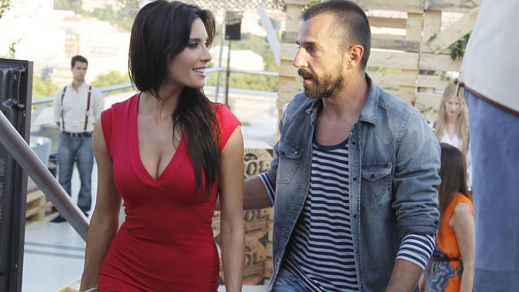 Pilar Rubio y Santi Millán disfrutaron de las vistas madrileñas con una caña