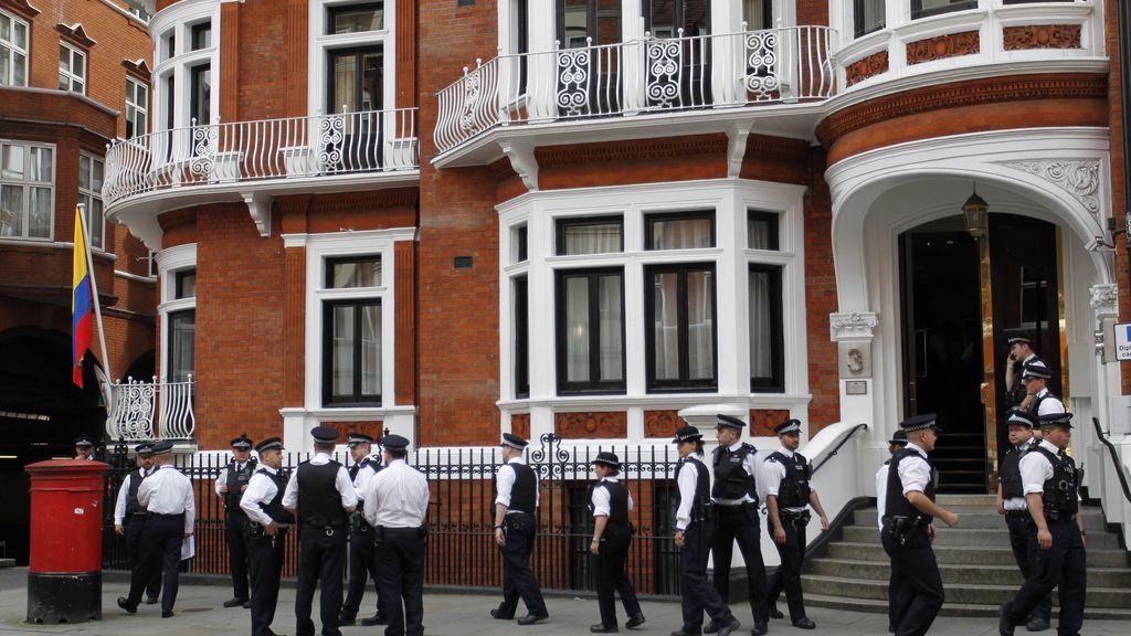 Embajada de Ecuador en Londres. Foto: GTRES