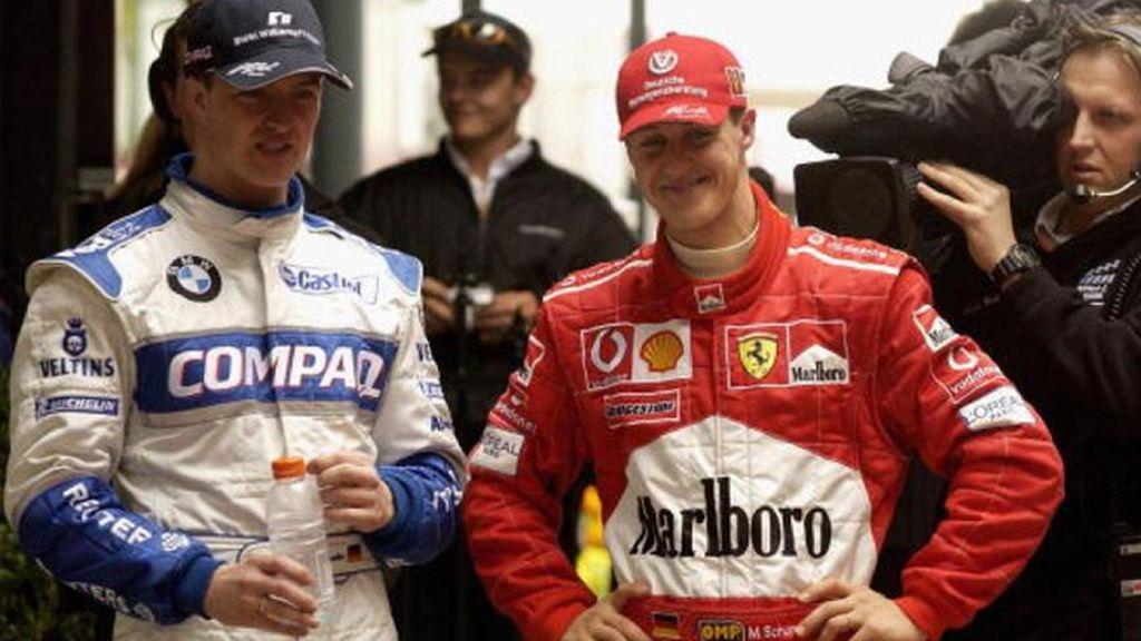 Ralf Schumacher, a la sombra del rey de la pista