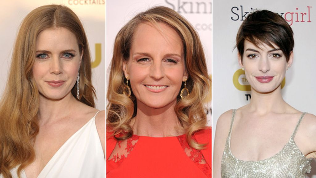 Amy Adams, Helen hunt y Anne Hathaway, nominadas a Mejor actriz de reparto
