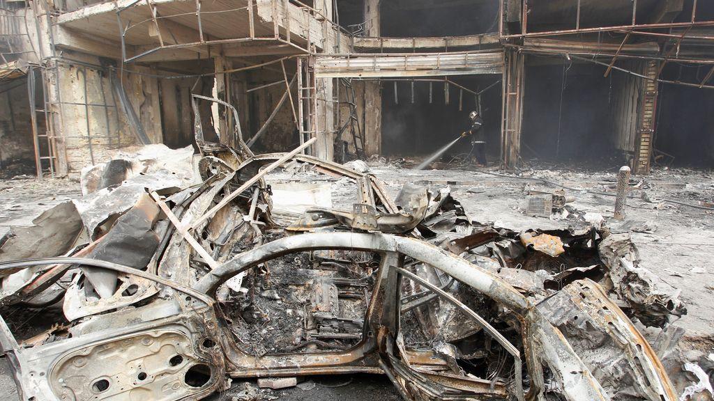 Imágenes de los atentados realizados por el IS en Bagdag
