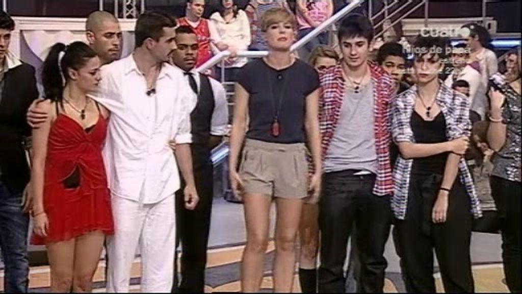 ¡NOMINADOS!: Kevin, Jenny,Chino, Aroa
