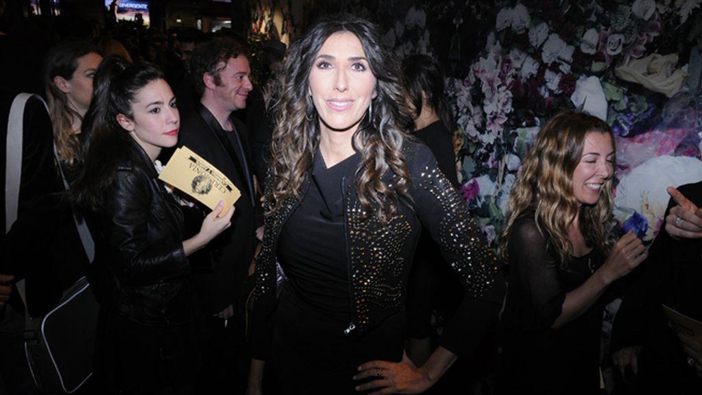 La presentadora Paz Padilla también acudió a la cita con Carmina