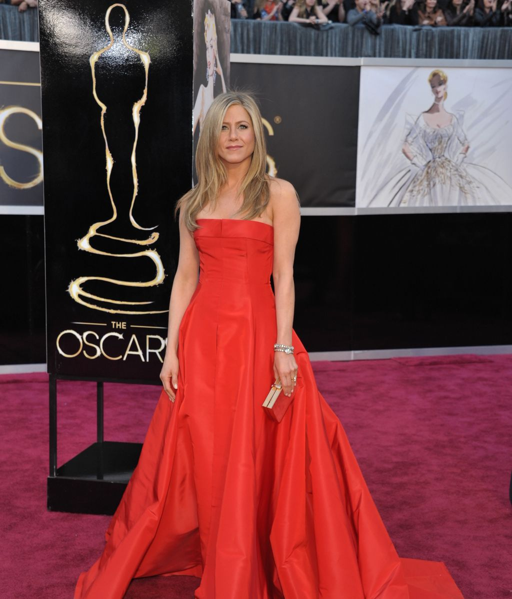 Jennifer Aniston, de Valentino