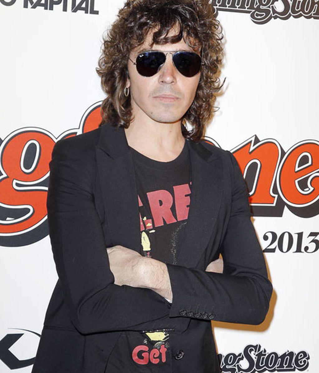 El cantante Rubén Pozo llevó una chaqueta americana