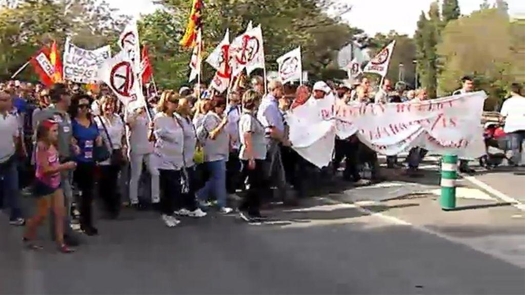 Nueva protesta de los trabajadores de Panrico ante próximos despidos