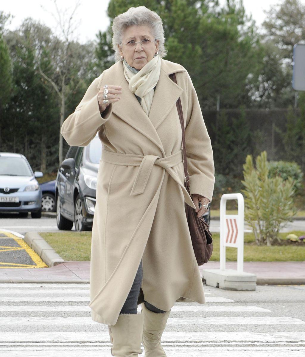 La actriz Pilar Bardem