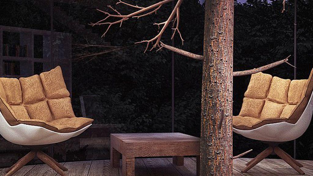 ¿Le gustaría vivir en una casa-árbol?