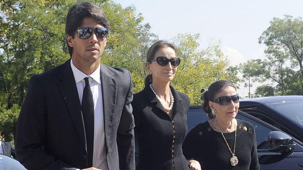 El tenista Fernando Verdasco, pareja de Ana Boyer, junto a Preysler