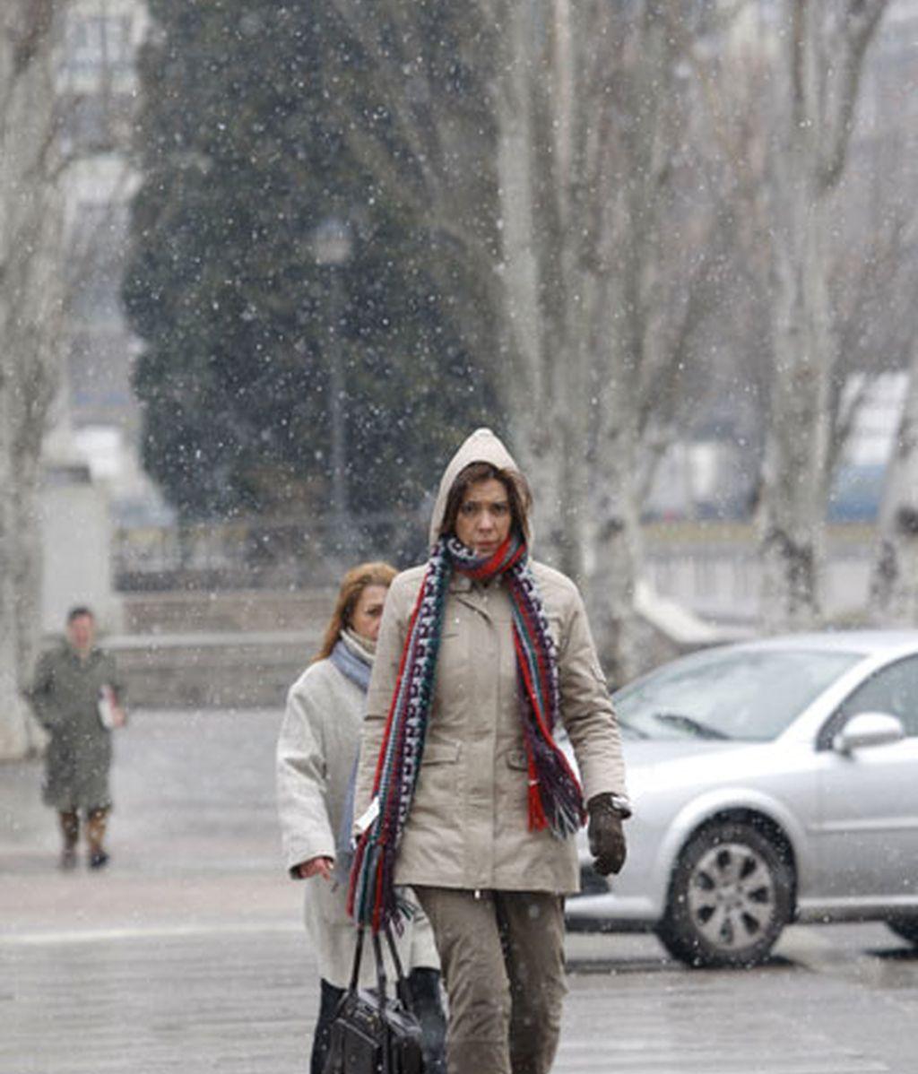 La nieve vuelve a Madrid