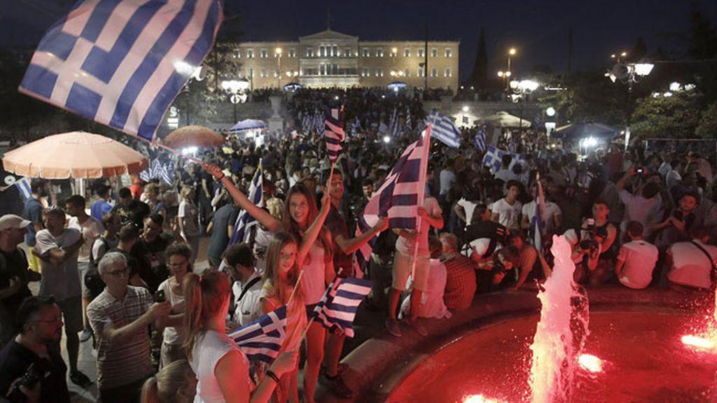 Grecia celebra el 'no'