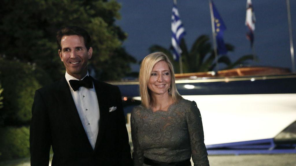 Pablo de Grecia y Marie Chantal