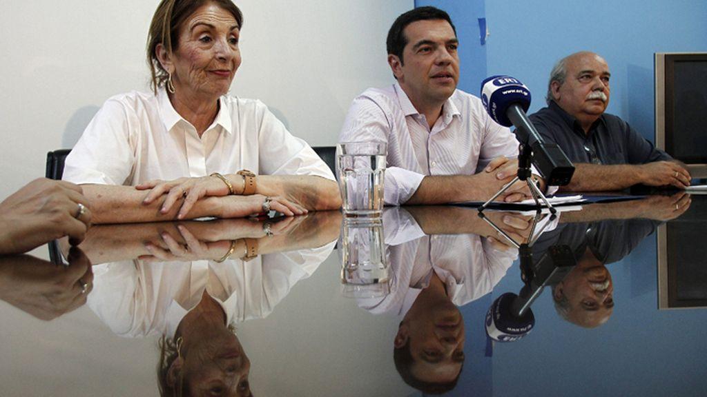 Tsipras anuncia un plan para abordar la inmigración con fondos europeos