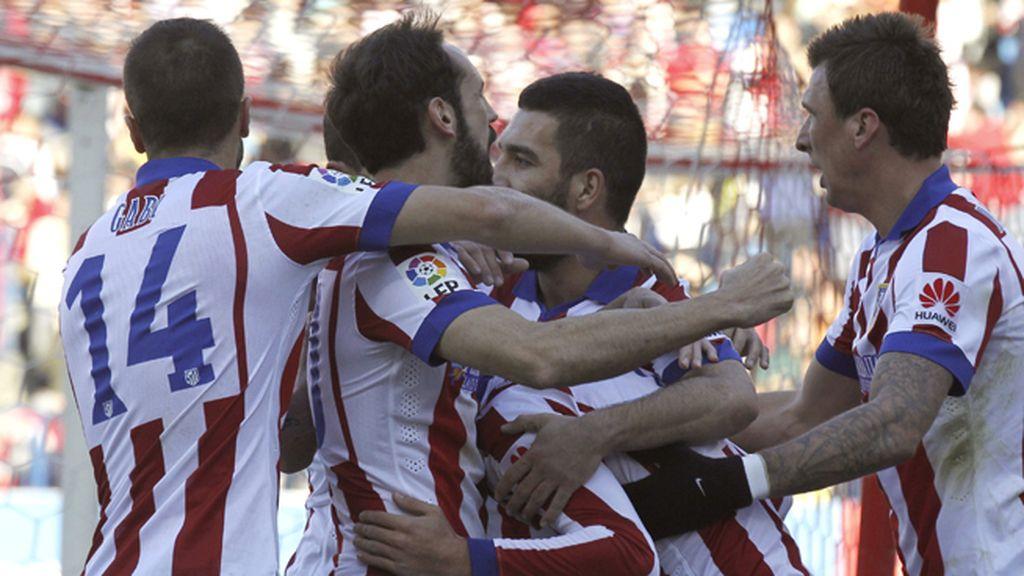 El Atlético de Madrid se impone al Levante con doblete de Griezmann