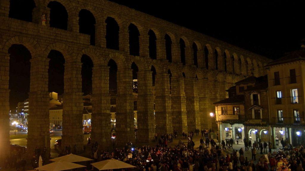 Hora del Planeta en Segovia