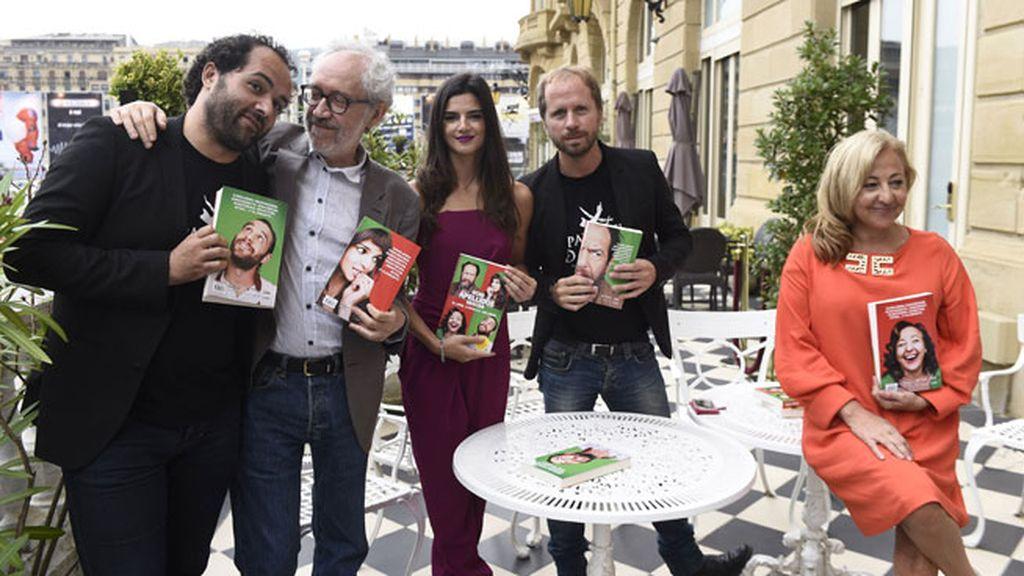 'Ocho apellidos vascos' se convierte también en un libro en San Sebastián