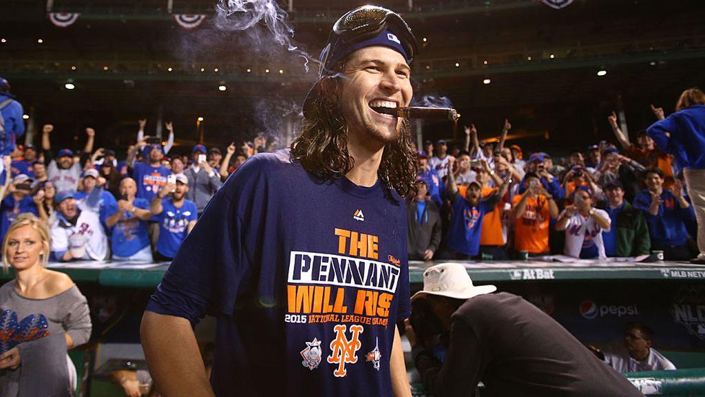 Los Mets alcanzan la gran final 15 años después (22/10/15)