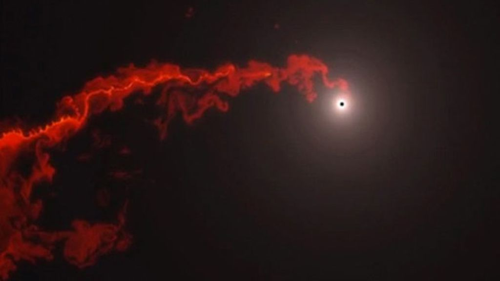 Incertidumbre ante el inminente choque de un agujero negro y una enorme nube de gas