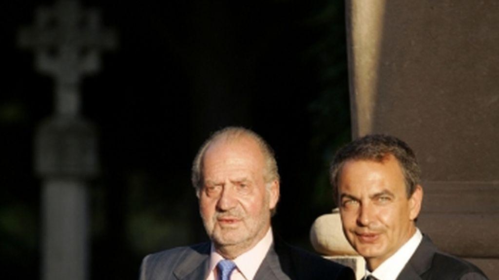 El rey y Zapatero se reúnen en Mallorca