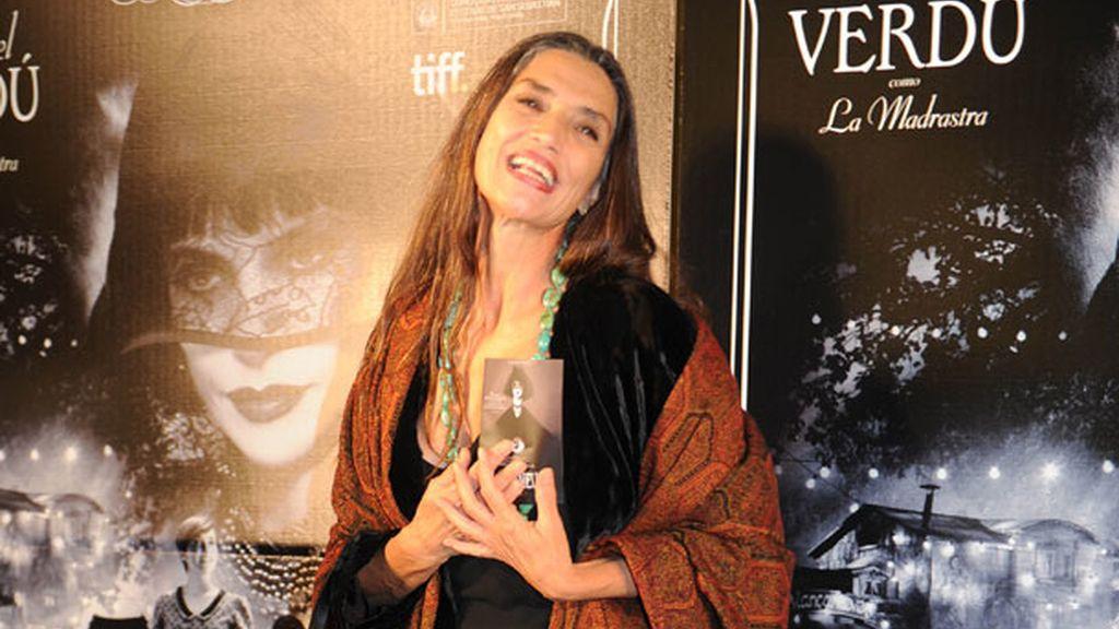 Ángela Molina, abuela por partida doble