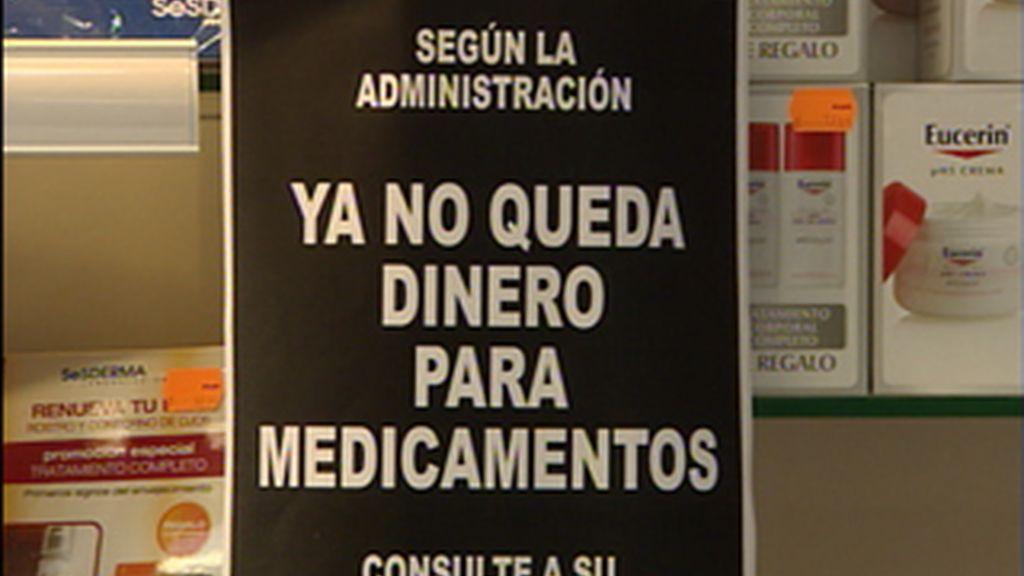Los farmacéuticos valencianos desconvocaron la huelga después de que la conselleria de Sanitat de la Generalitat valenciana pagara los 60 millones acordados en noviembre.