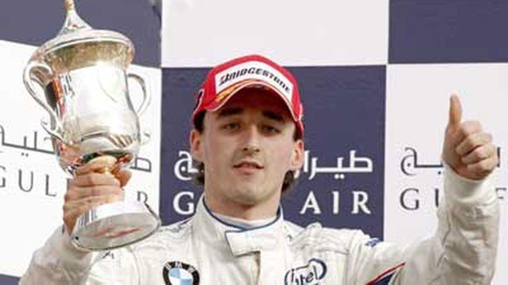 Kubica, tercer puesto