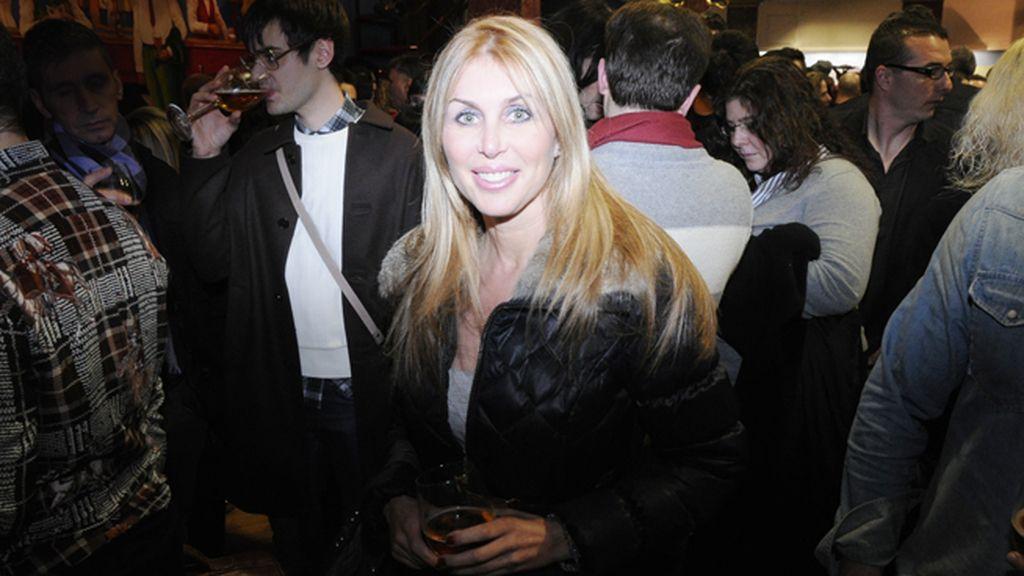 La cantante Malena Gracia