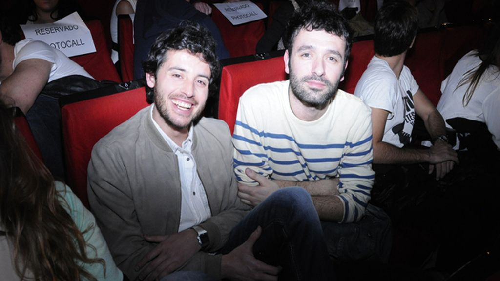 Javier Pereira y el director Rodrigo Sorogoyen