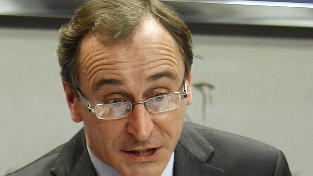 Alfonso Alonso. Foto: Archivo.
