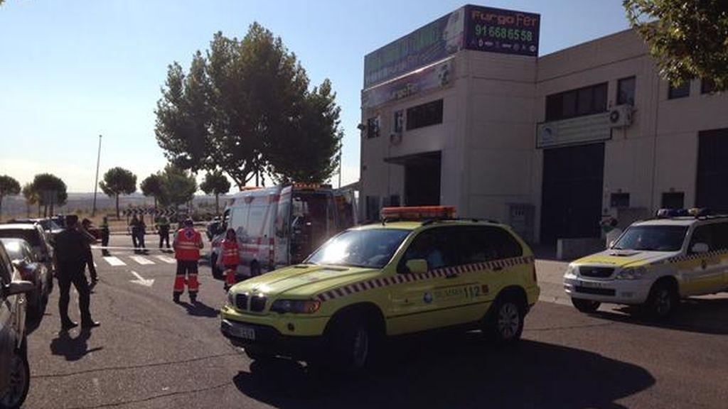 Un herido crítico tras un tiroteo en un polígono industrial del municipio madrileño de Arroyomolinos