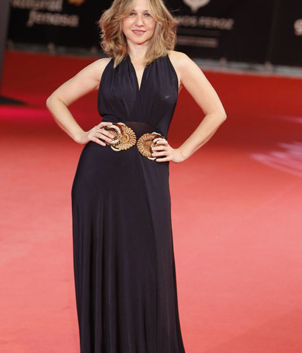 La actriz Pilar Castro en la alfombra roja