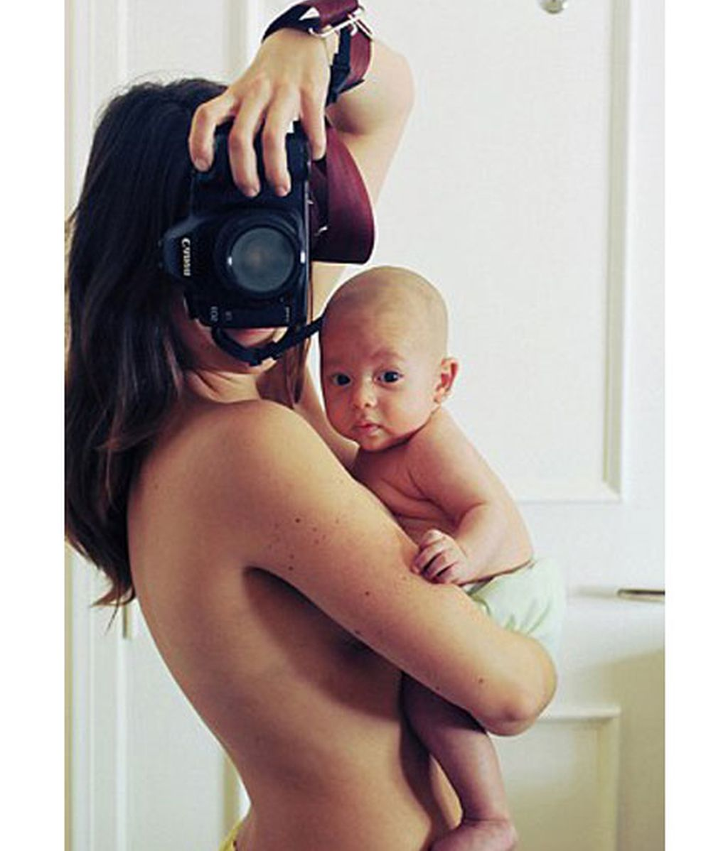 Una fotógrafa argentina 'captura' su embarazo
