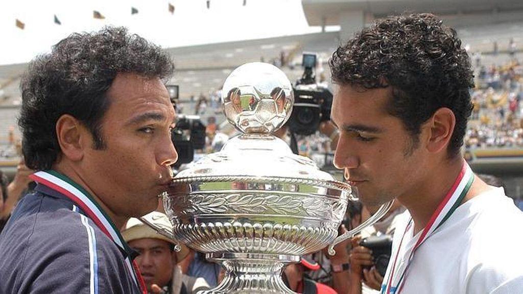 Hugo Sánchez y su hijo Hugo Sánchez Portugal