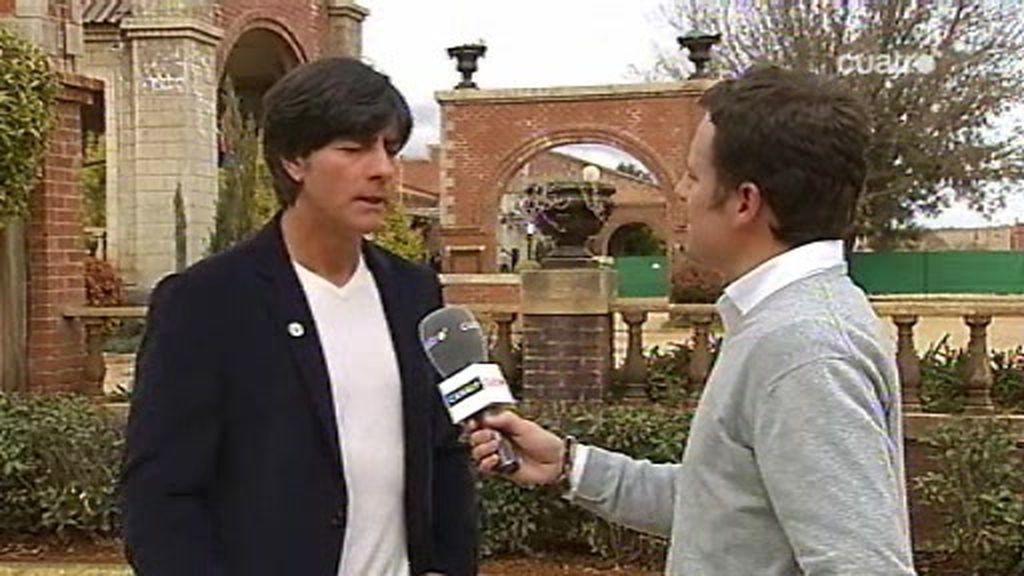 Cuatro habla con Joachim Löw, el seleccionador alemán