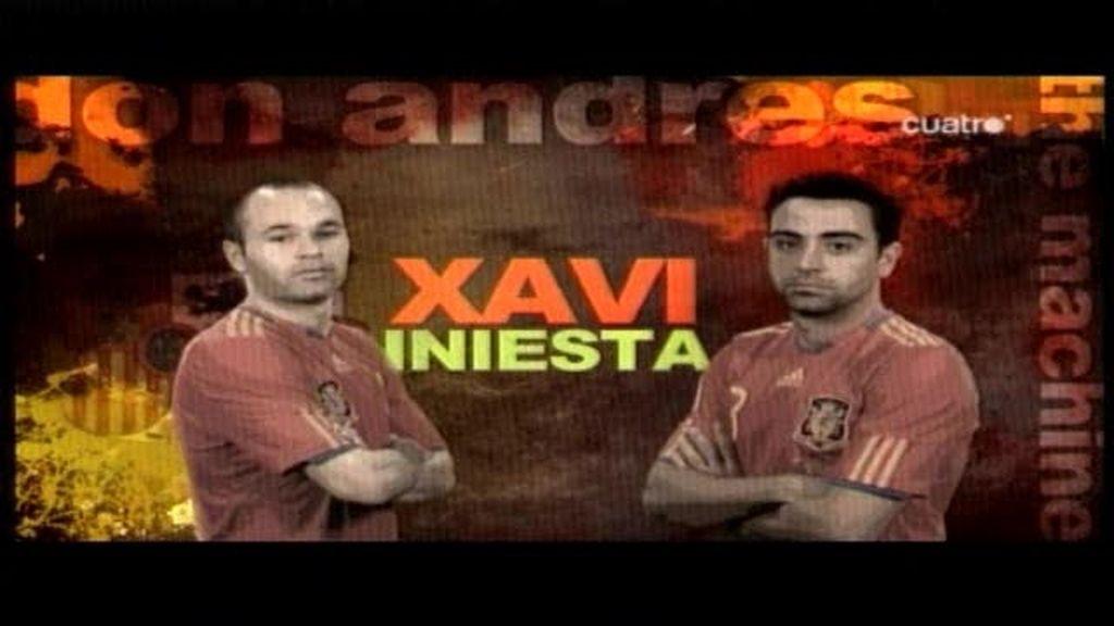Xavi e Iniesta vistos por sus compañeros